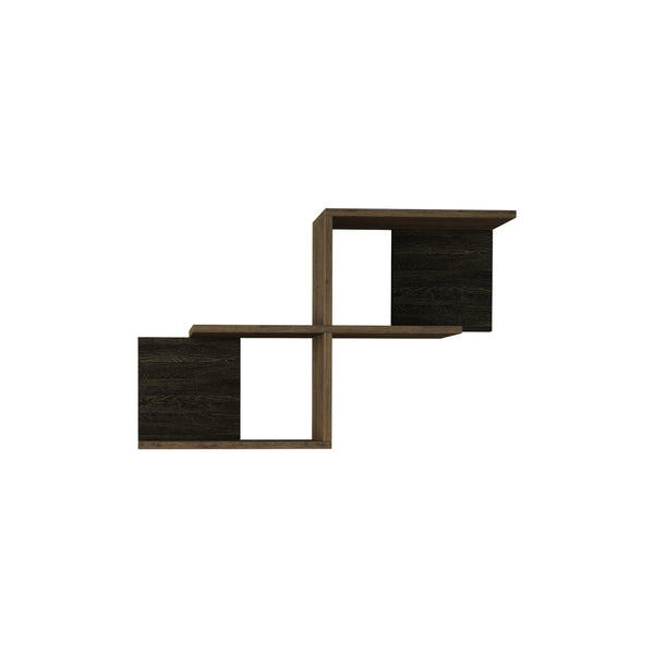 Salsa Shelf-Dark Brown-Oak-Modern Furniture Deals