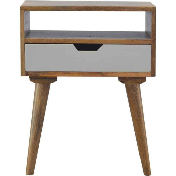 Scandinavian 1+1 Drawer Bedside-Modern Furniture Deals