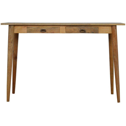 Scandinavian 2 Drawer Writing Desk-Modern Furniture Deals