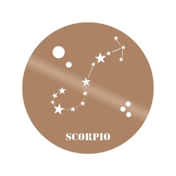 SCORRPIO HOROSCOPE - COPPER Wall Art-Metal Wall Art-[sale]-[design]-[modern]-Modern Furniture Deals