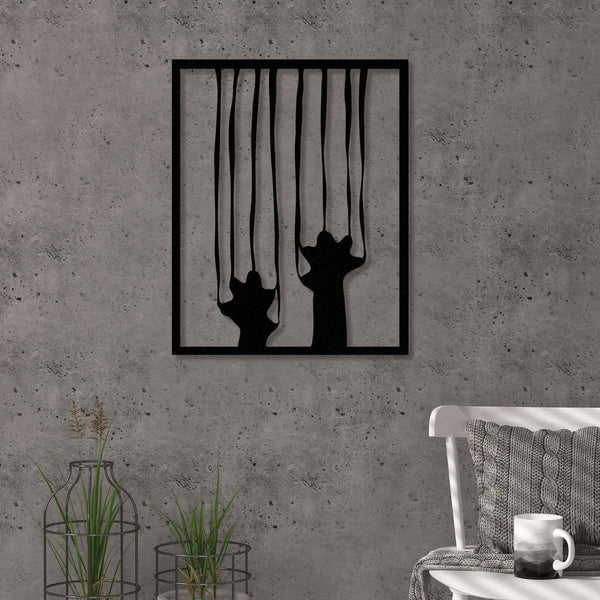 Scratch Metal Wall Art-Modern Furniture Deals