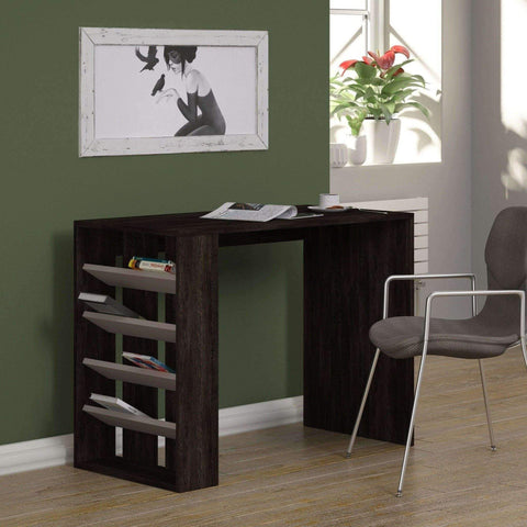 Selection Desk-Dark Brown-Mocha-Modern Furniture Deals