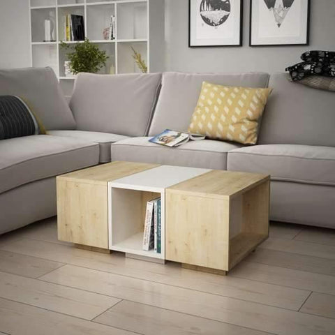 Sense Nesting Coffee Table-Grey-A.White-Modern Furniture Deals