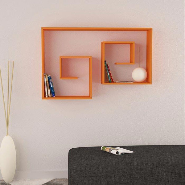 Space Shelf Orange-Orange-Modern Furniture Deals