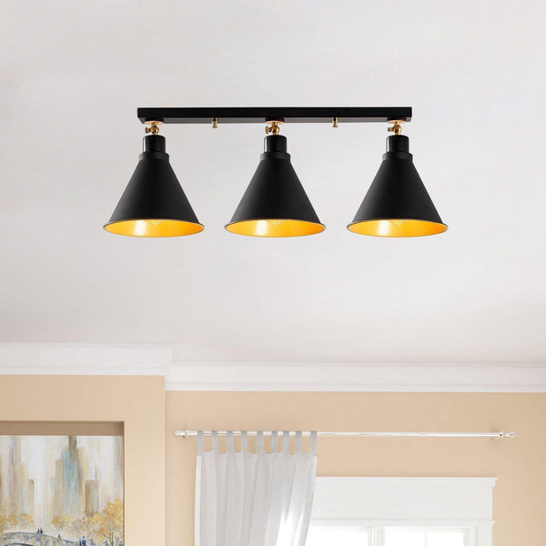 Spot 3 Ceiling Light Black-Modern Furniture Deals