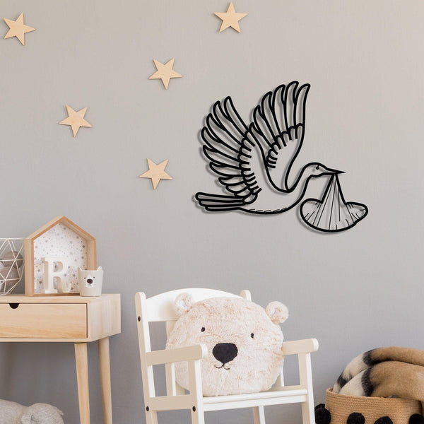 STORK Wall Art-Metal Wall Art-[sale]-[design]-[modern]-Modern Furniture Deals