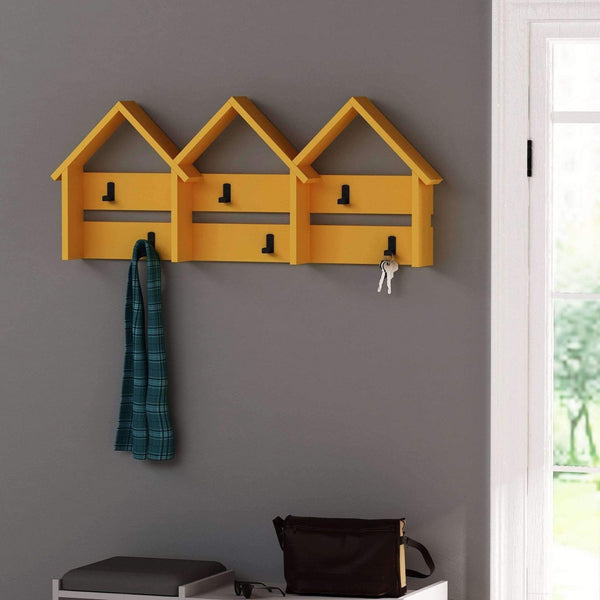 Terraced Coat Rack-Mustard-Modern Furniture Deals