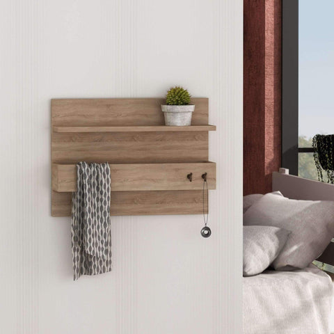Tikky Accesories Rack-Oak-Modern Furniture Deals