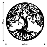 TREE - BLACK Wall Art-Metal Wall Art-[sale]-[design]-[modern]-Modern Furniture Deals