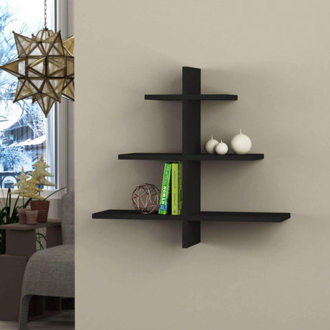 Tree Shelf-Black-Modern Furniture Deals