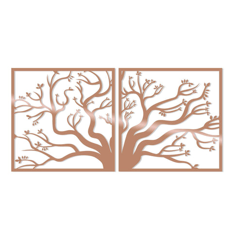 TREE2 - COPPER Wall Art-Metal Wall Art-[sale]-[design]-[modern]-Modern Furniture Deals