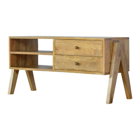 Trestle 2 Drawer TV Unit-TV STAND-Modern Furniture Deals