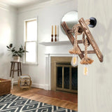 TRUNK Wooden Ladder Wall Light-Modern Furniture Deals
