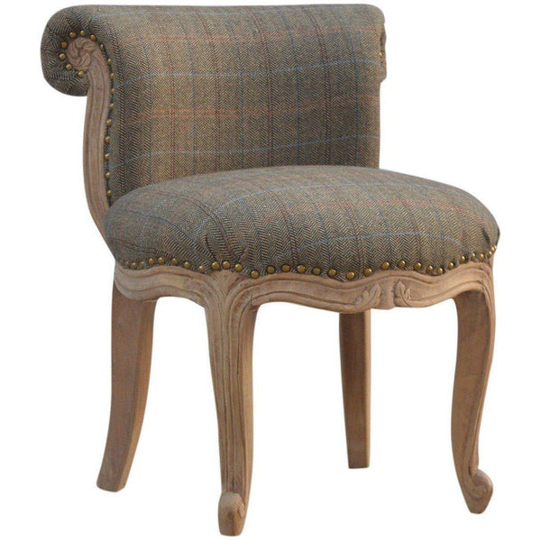 Buy Tweed Accent Chair-Armchair-UK-Modern Furniture Deals