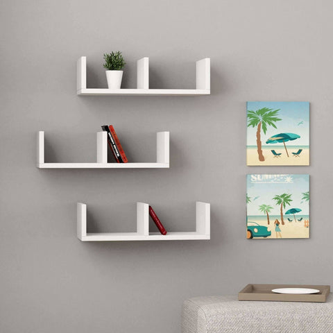 U Design Shelf-White-Modern Furniture Deals