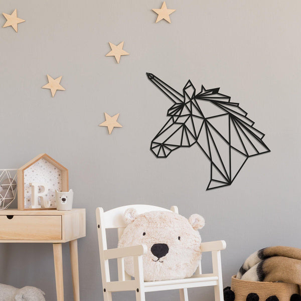 UNICORN 1 Wall Art-Metal Wall Art-[sale]-[design]-[modern]-Modern Furniture Deals