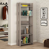 Valz Bookcase-L.Mocha-Modern Furniture Deals