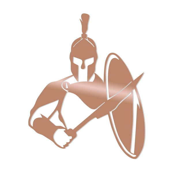 WARRIOR - COPPER Wall Art-Metal Wall Art-[sale]-[design]-[modern]-Modern Furniture Deals