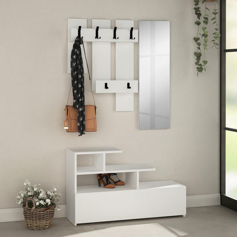 Westy Hallway Set-White-Modern Furniture Deals