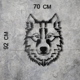 WOLF XL Wall Art-Metal Wall Art-[sale]-[design]-[modern]-Modern Furniture Deals