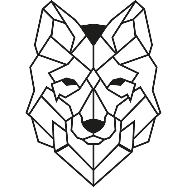 WOLF2 Wall Art-Metal Wall Art-[sale]-[design]-[modern]-Modern Furniture Deals