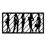 WORKWOMEN 2 - BLACK Wall Art-Metal Wall Art-[sale]-[design]-[modern]-Modern Furniture Deals