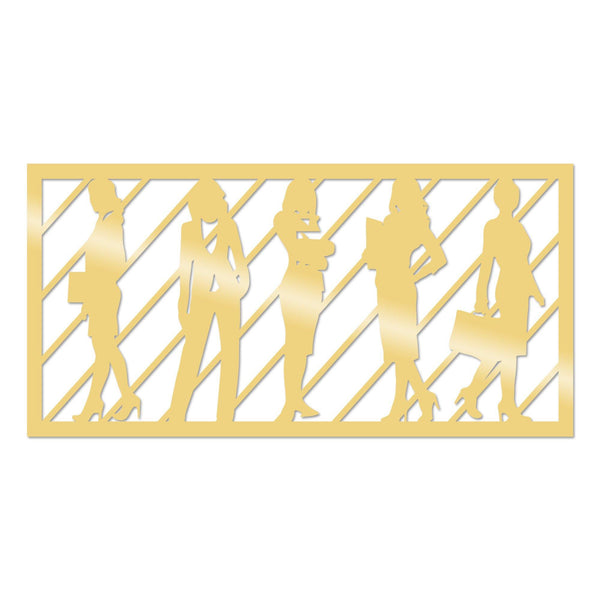WORKWOMEN 2 - GOLD Wall Art-Metal Wall Art-[sale]-[design]-[modern]-Modern Furniture Deals