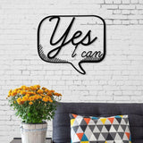 Yes I Can Metal Wall Art-Modern Furniture Deals