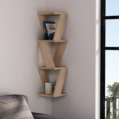 Zen Shelf-Oak-Modern Furniture Deals