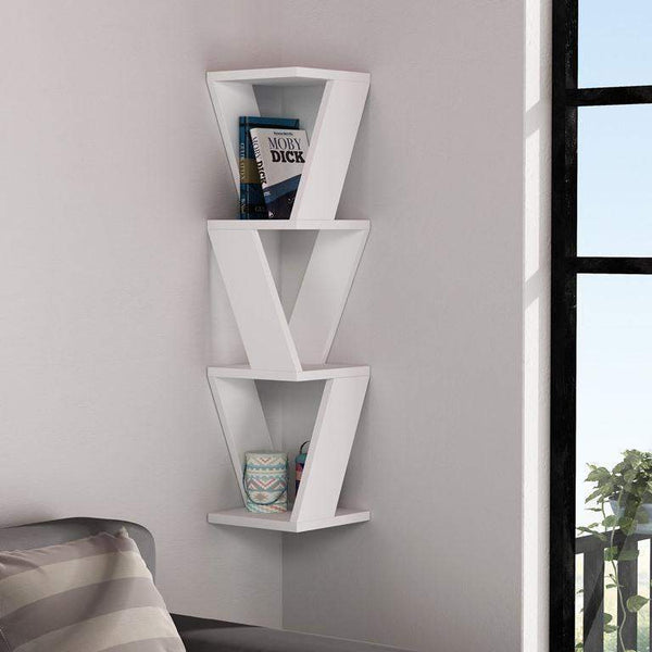 Zen Shelf-White-Modern Furniture Deals
