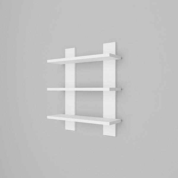 Zone Wall Shelf - White-FURNITURE>WALL SHELVES-[sale]-[design]-[modern]-Modern Furniture Deals