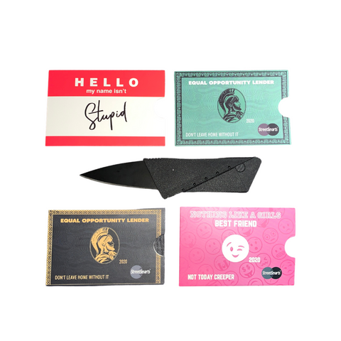 Credit Card Knife (Bundle)