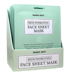 Rich Hydrating Face Sheet Mask | Box of 80