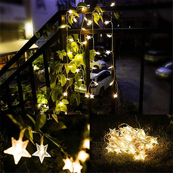 Siosm™ LED Twinkle Garlands Battery Powered