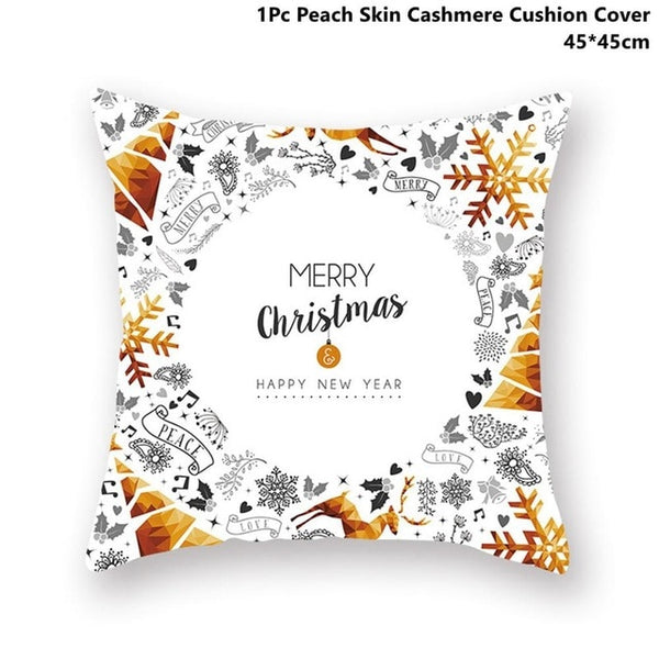 Decorative Christmas Pillow Case