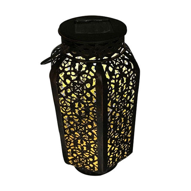 Siosm™ Retro Garden Solar Shadow Lantern (Outdoor Waterproof Landscape Lamp)