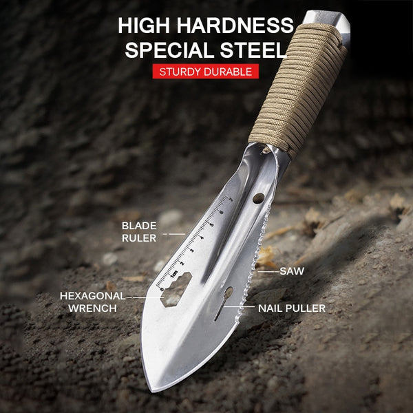 Siosm™ Portable Stainless Steel Hunting Shovel