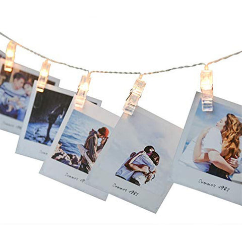 Siosm™ Photo Clip LED Strings (Battery or USB)  - Holiday Gift Ideas