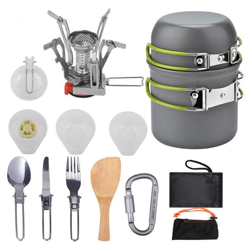 Siosm™ Outdoor Camping/Hiking Cookware Set