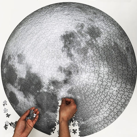 Moon Puzzle 1000 Pieces