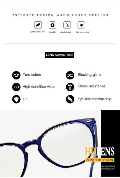 Anti Blue Light Computer Glasses For Men and Women