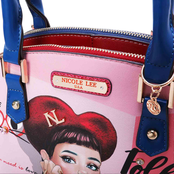DAISY TAKES LOVE FASHION DOME BAG