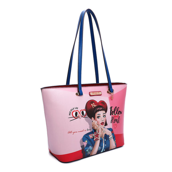 DAISY TAKES LOVE FASHION SHOPPER BAG