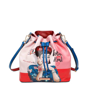 DAISY TAKES LOVE BUCKET BAG