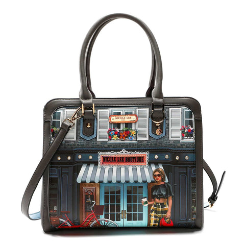 SUNDAY MORNING FASHION SATCHEL BAG