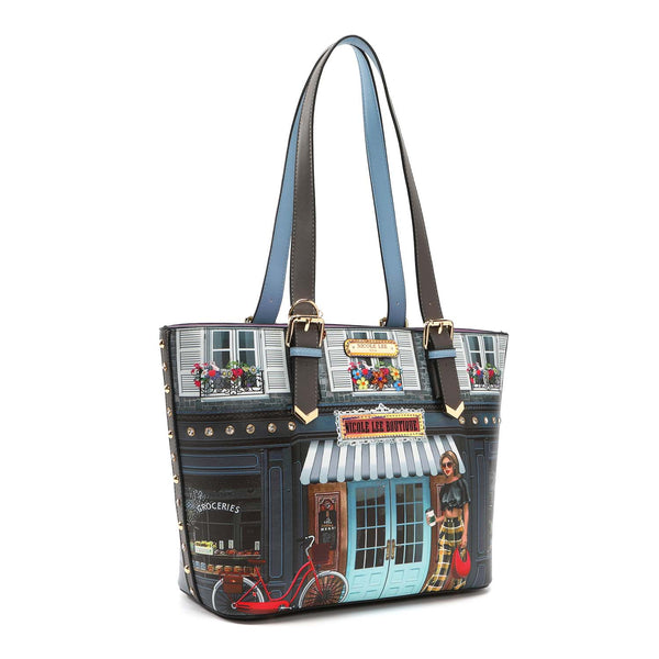 SUNDAY MORNING BOUTIQUE FASHION TOTE BAG