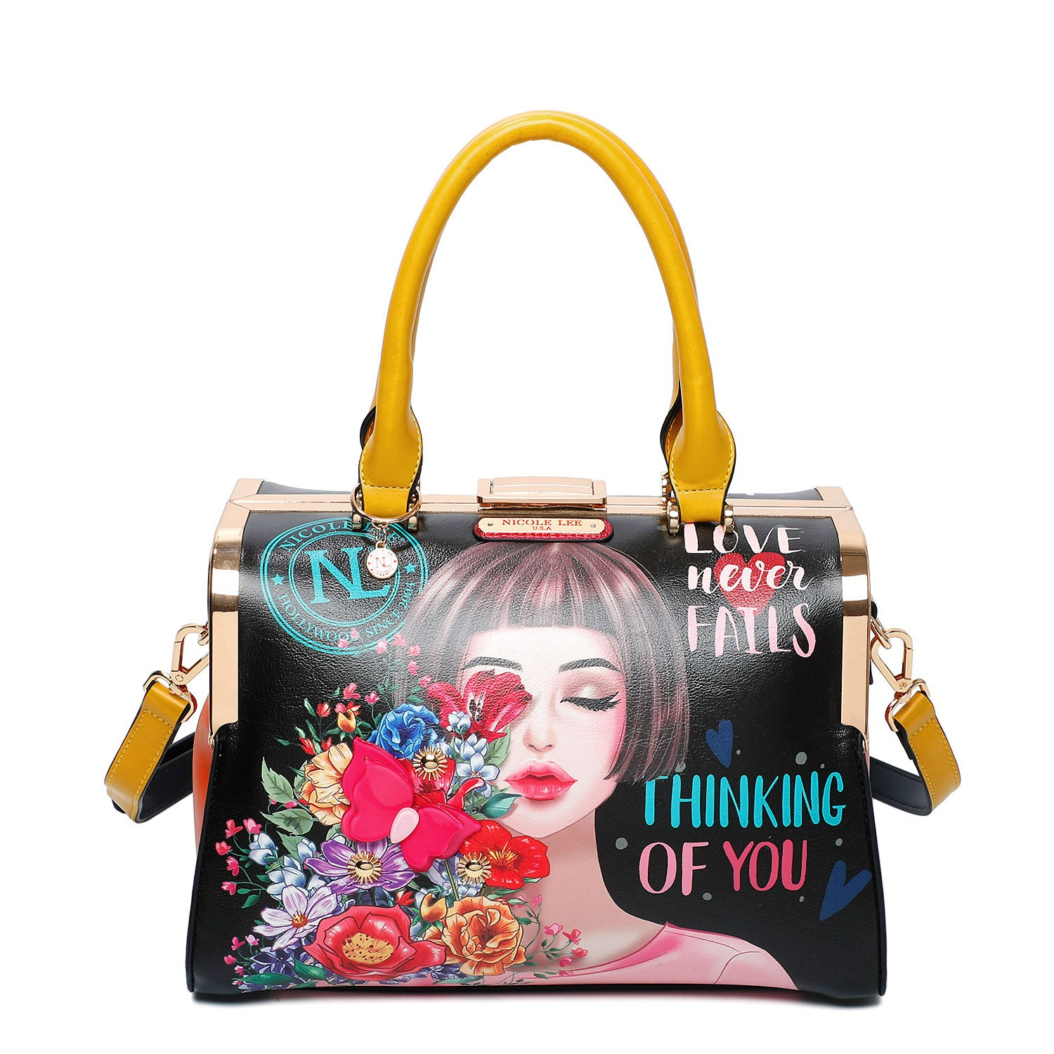 THINKING OF YOU CHIC SQUARED FRAME BAG