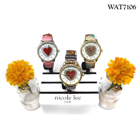 HEART RHINESTONE WATCH