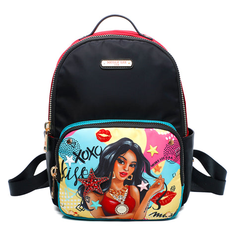 XOXO KISSES FASHION BACKPACK