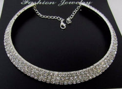 AD American Diamond Choker For Woman And Girl